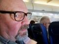 Flying to Prague