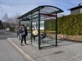 Busshållplats Saltsjöbaden