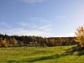 The fields in autumn